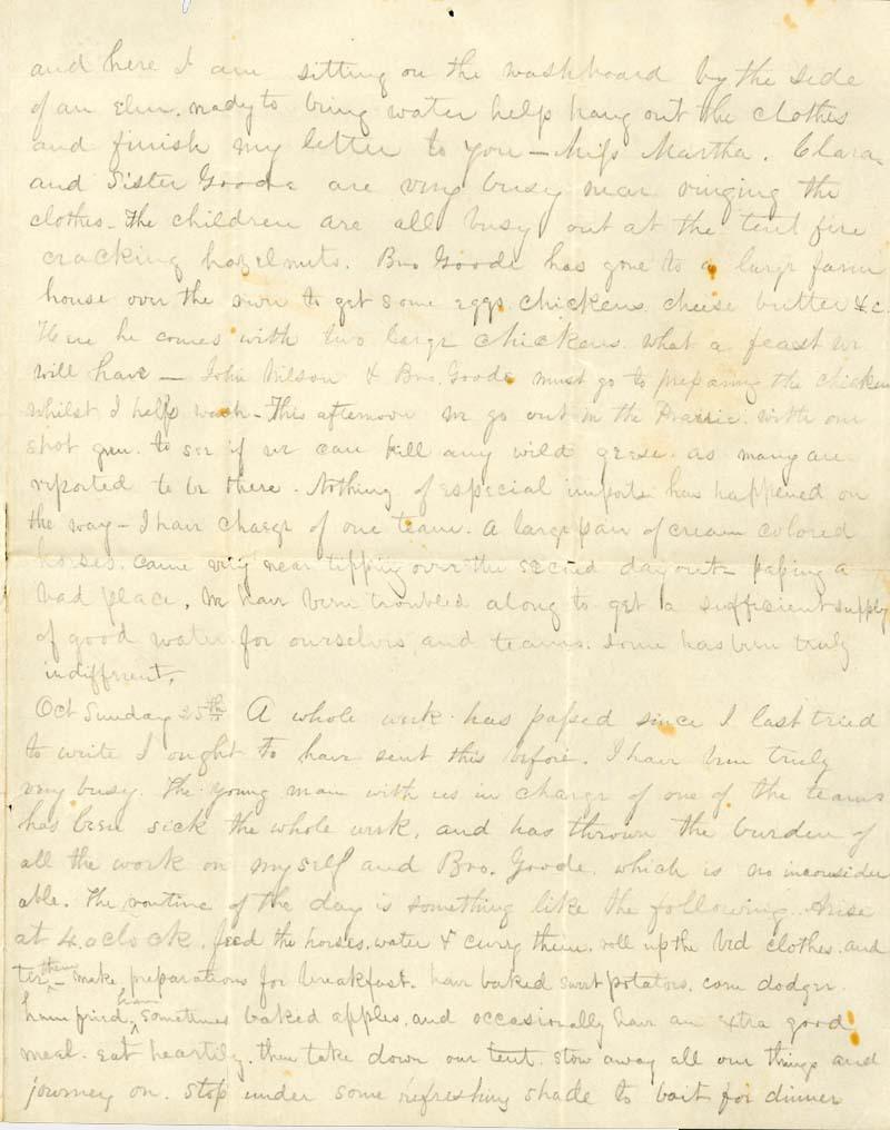 James Griffing to J. Augusta Goodrich - p. 3
