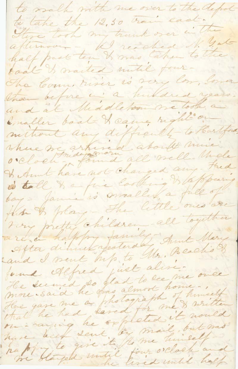 J. Augusta Goodrich Griffing to James Griffing - p. 3