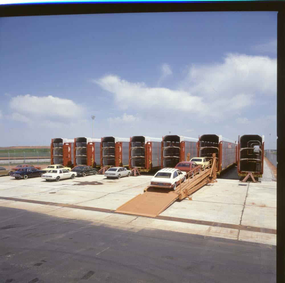 Autoveyor cars, Oklahoma City, Oklahoma