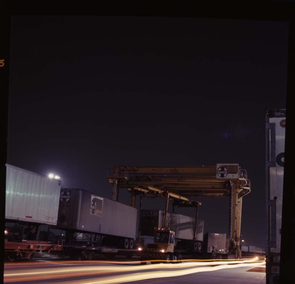 """""""Super C"""" train, Los Angeles, California"""