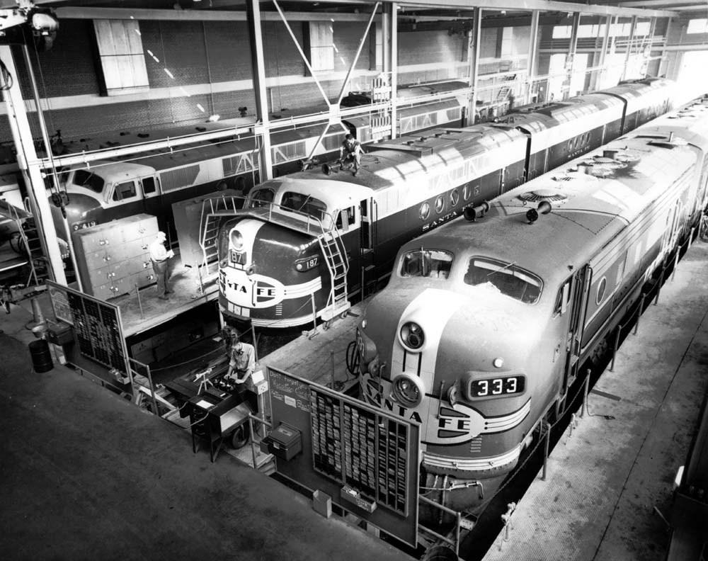 Atchison, Topeka & Santa Fe Railway Company yards, Argentine, Kansas