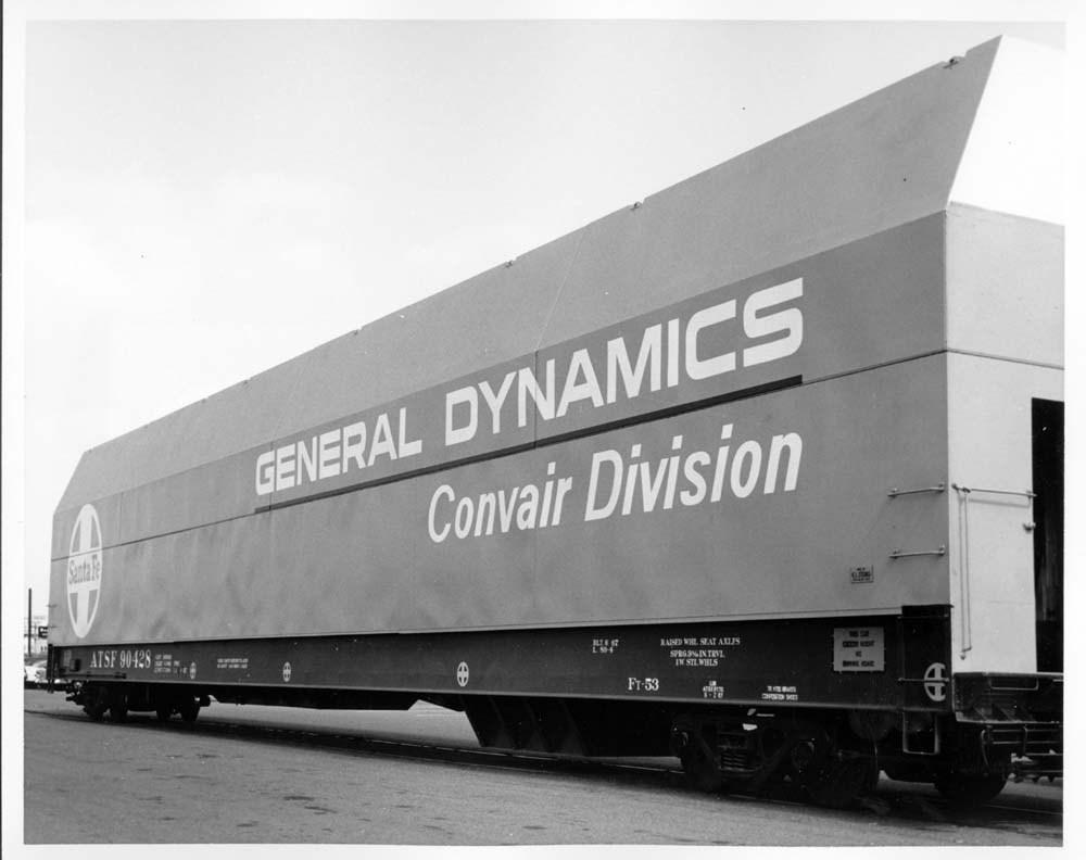 General Dynamics Convair 89' Strato-Box car