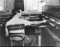 Atchison, Topeka & Santa Fe Railway Company telegraph clerk,  Argentine, Kansas
