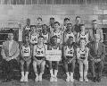 East Topeka Junior High School basketball team, Topeka, Kansas