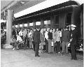 Atchison, Topeka & Santa Fe RailwayCompany train, Los Angeles Union terminal