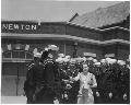 Atchison, Topeka and Santa Fe Railway Company depot, Newton, Kansas