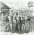 Voting at Kickapoo, Kansas Territory
