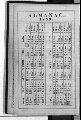 Daniel Mulford Valentine's diary - Almanac