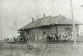 Chicago,Rock Island & Pacific Railroad depot, Clyde, Kansas