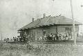 Chicago,Rock Island & Pacific Railroad depot, Clyde, Kansas
