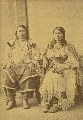 Ouray, Ute Indian Chief, and his wife
