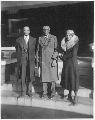 George Washington Carver and Dr. and Mrs. M. L. Ross