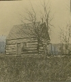 Log cabin of Joseph Gardner