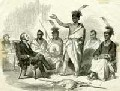 Conference of Kansa Indians with the United States' Commissioner of Indian Affairs