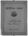 Criminal X-Ray - Title Page
