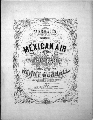 Worrall's celebrated Mexican air. A capretio for the guitar - 1