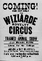 Wiziarde Novelty Circus
