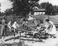 Children playing, Kansas City, Kansas