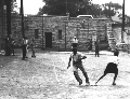Children playing baseball, Kansas City, Kansas