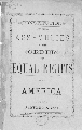 Constitution of the Assemblies of the Order of Equal Rights of America