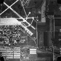 Aerial view of Forbes Air Force Base, Topeka, Kan.