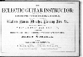 Worrall's guitar school - Title Page