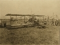Albin Longren's first airplane