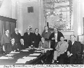Arthur Capper with members of the Senate Committee on Agriculture