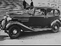 Arthur Capper in his new 1934 Chevrolet