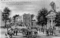 Street scene in Charles Town, Virginia, during John Brown's trial