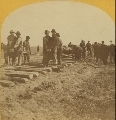 Laying the Union Pacific rails