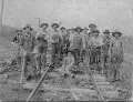 Atchison, Topeka & Santa Fe Railway Company section workers