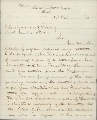 Samuel Hallett to Abraham Lincoln, President of the United States - 1