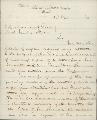 Samuel Hallett to Abraham Lincoln, President of the United States - 1