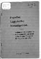 Populist legislative investigation - 2