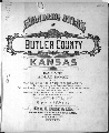 Standard atlas of Butler County, Kansas