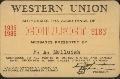 Western Union pass - 1