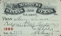 Missouri- Kansas- Texas Railroad passes - 1