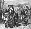 Border ruffians invading Kansas