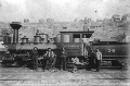 Kansas City, Fort Scott & Memphis Railroad steam locomotive #36