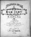 Standard atlas, Miami County, Kansas - Title Page