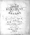 Plat book of Finney County, Kansas - 1