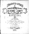 Standard atlas of Cheyenne County, Kansas - Title Page