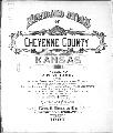 Standard atlas of Cheyenne County, Kansas - Title Page