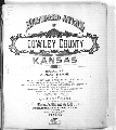 Standard atlas of Cowley County, Kansas - Title Page