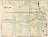 Map of Kansas, 1869