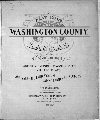 Plat book of Washington County, Kansas - Title Page