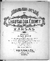 Standard atlas of Chautauqua County, Kansas - Title Page