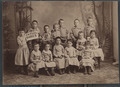 Young children, Haskell Institute, Lawrence, Kansas