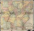 Map of the Missouri, Kansas, & Texas Railway and principal connections